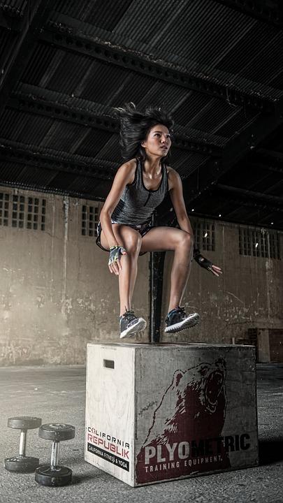 entrenamiento de saltos