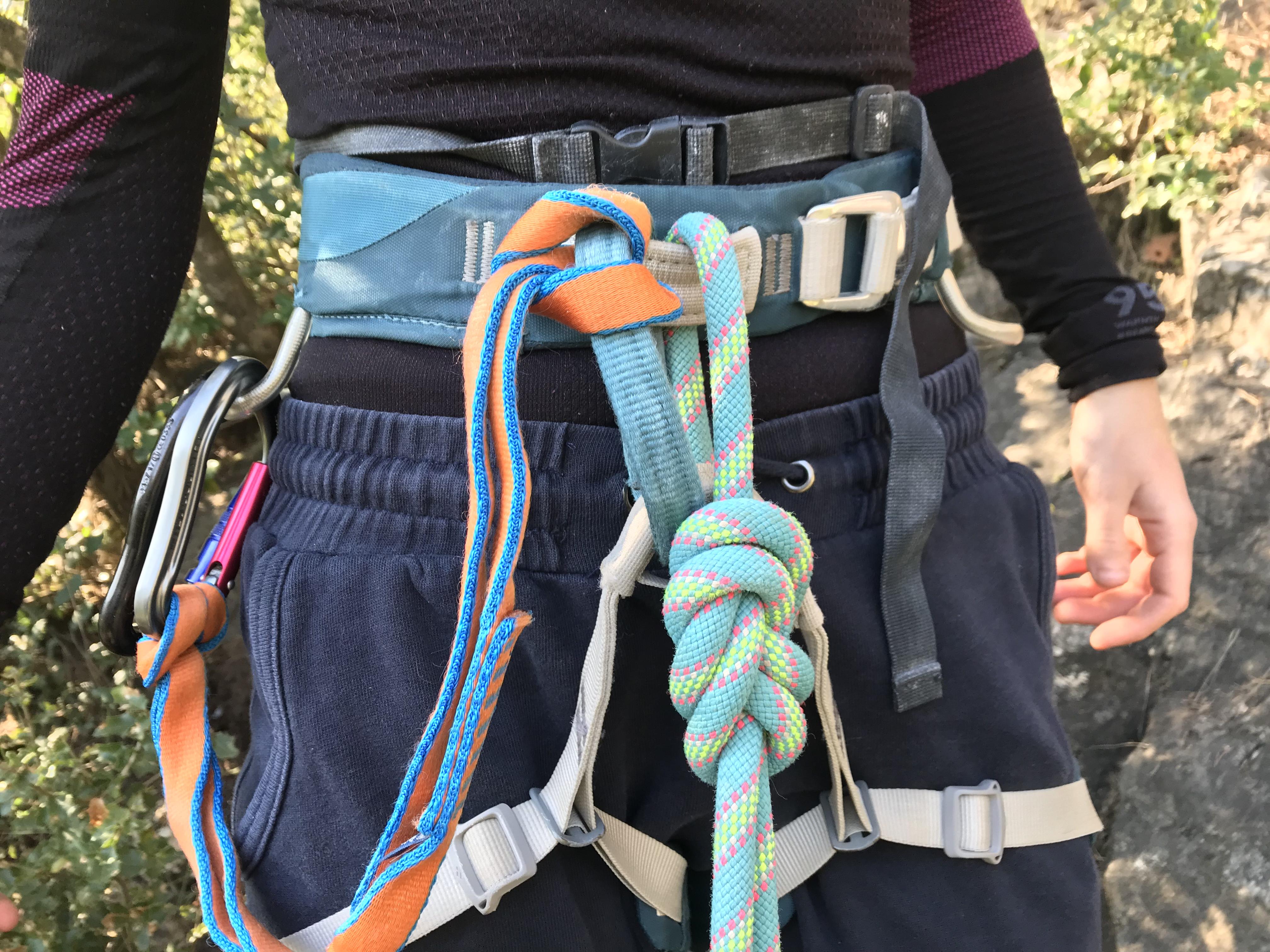 Encordarse con nudo de ocho | escaladayferratas.com