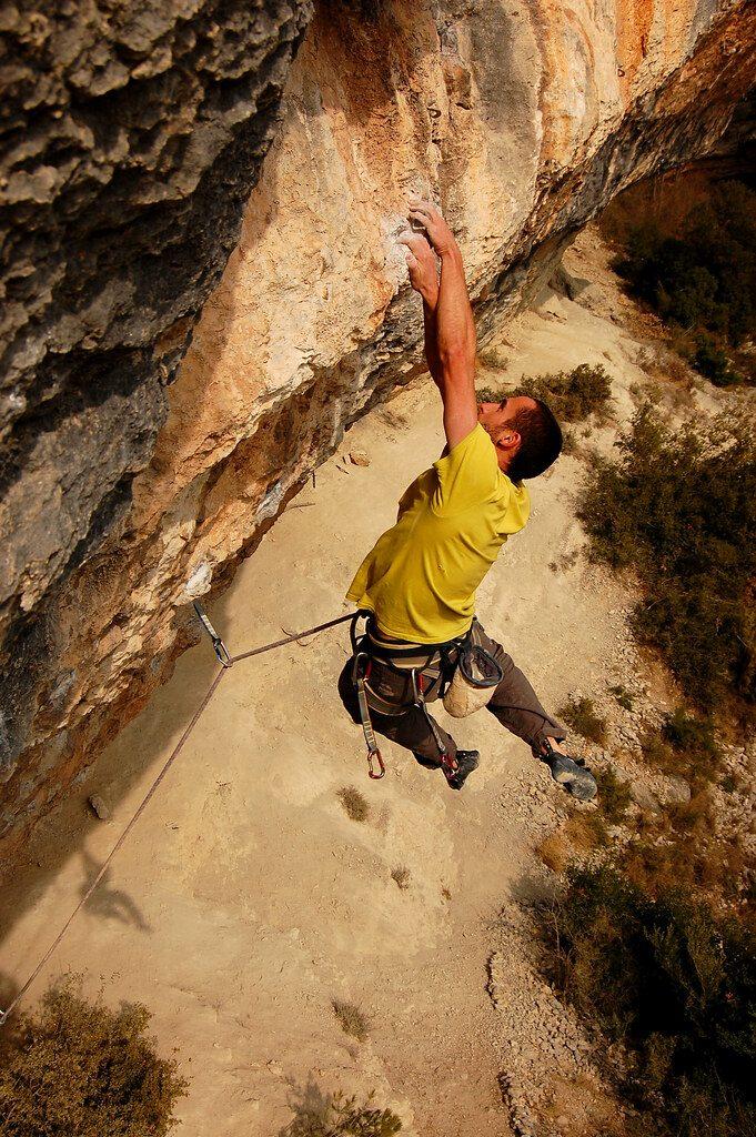 Escalar als sectors de Calders - Foto cedida per CaldersRebolt