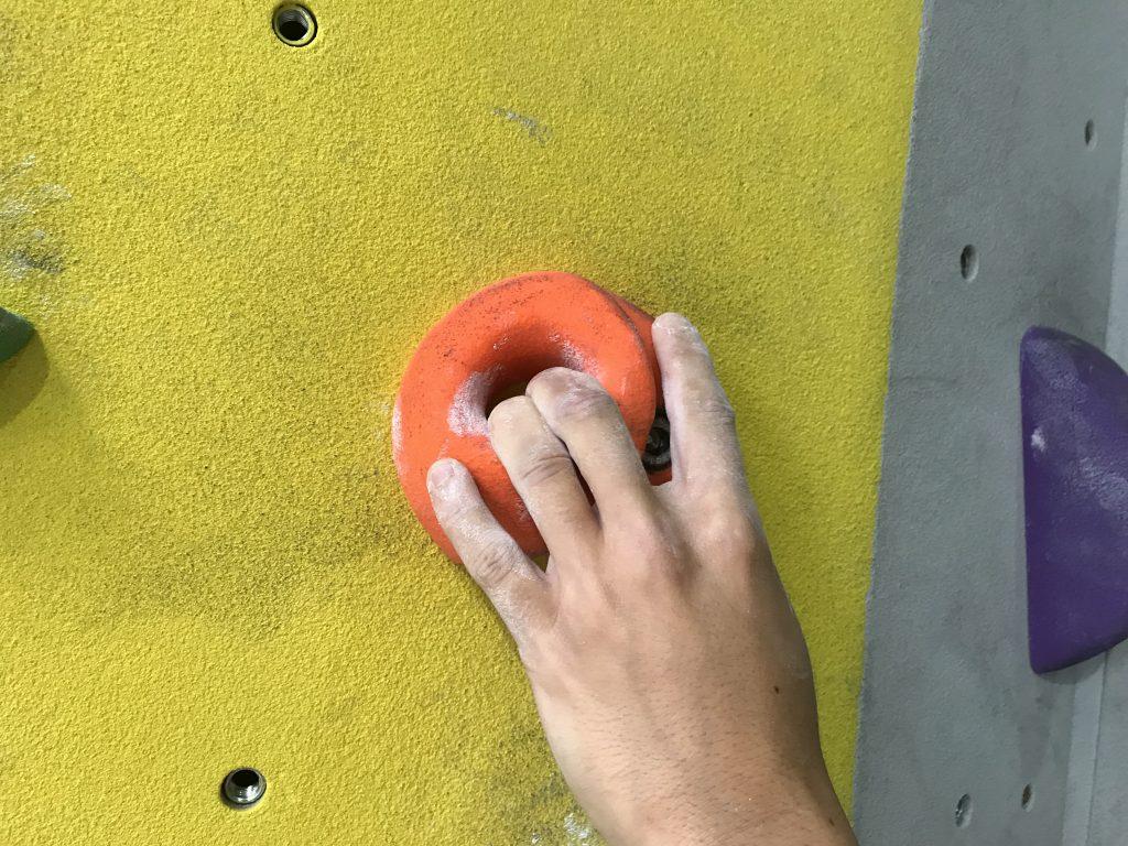 presa de escalada bidedo - escaladayferratas.com