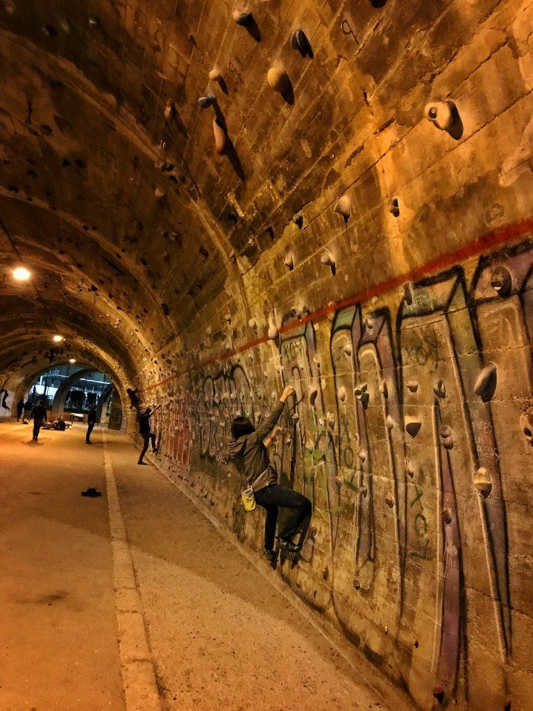 Tunel de la Foixarda de Barcelona - escaladayferratas.com