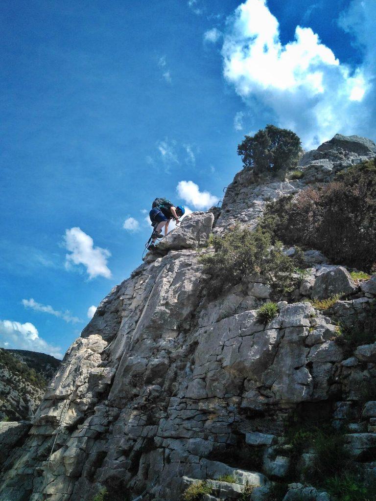 Vía Ferrata El Espolón de la Virgen - escaladayferratas.com