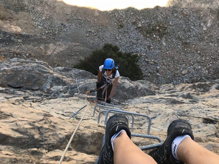 Ferrata en Málaga - escaladayferratas.com